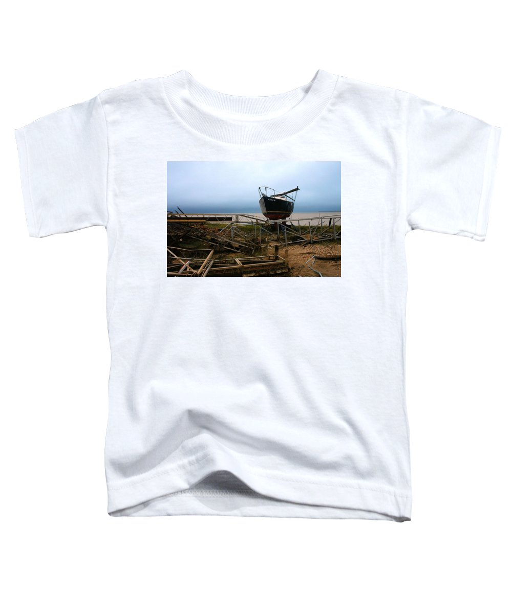 Clay Toddler T-Shirt featuring the photograph Ghost by Clayton Bruster