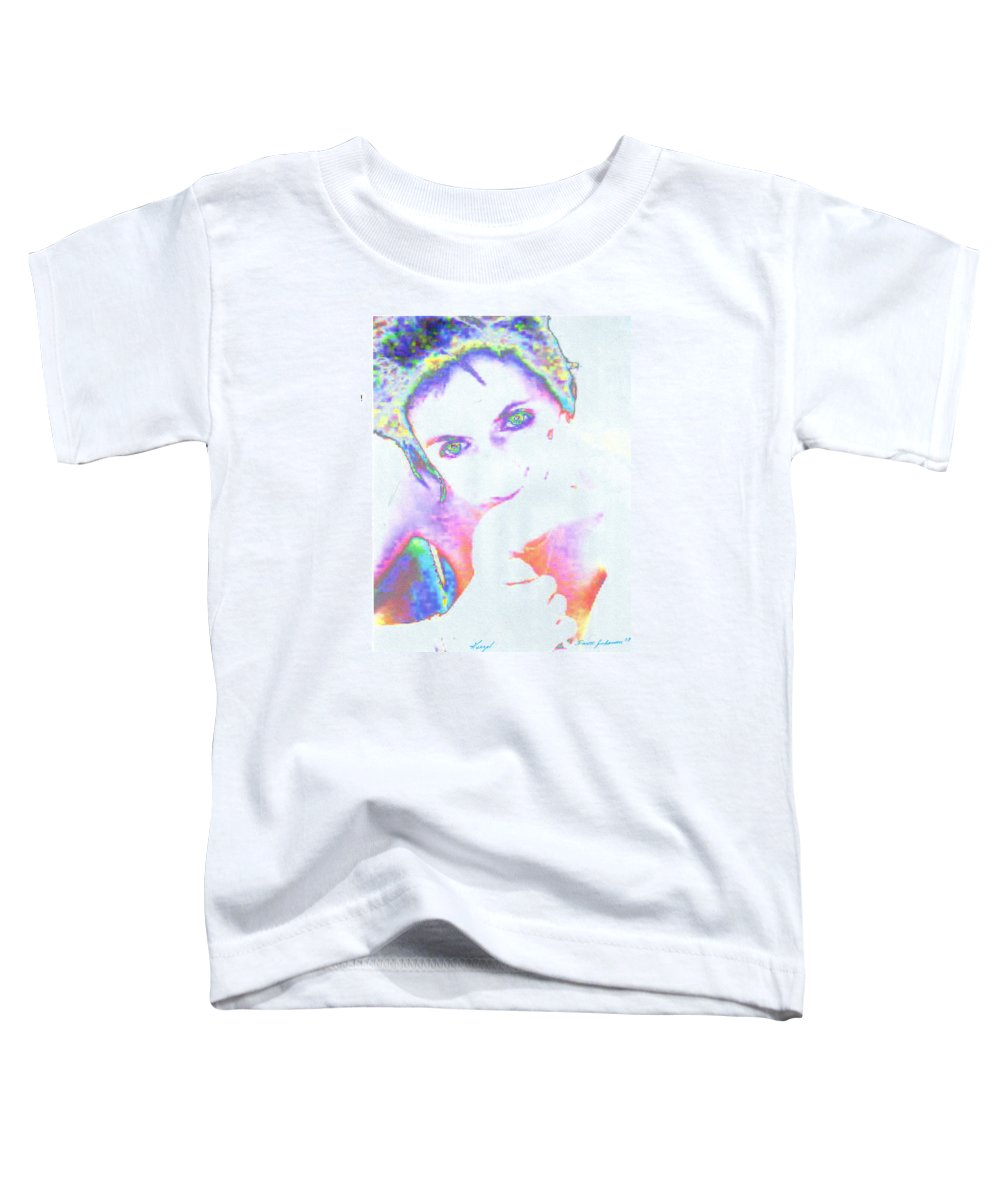 Portrate Of A French Girl Toddler T-Shirt featuring the photograph Gisele by Dawn Johansen