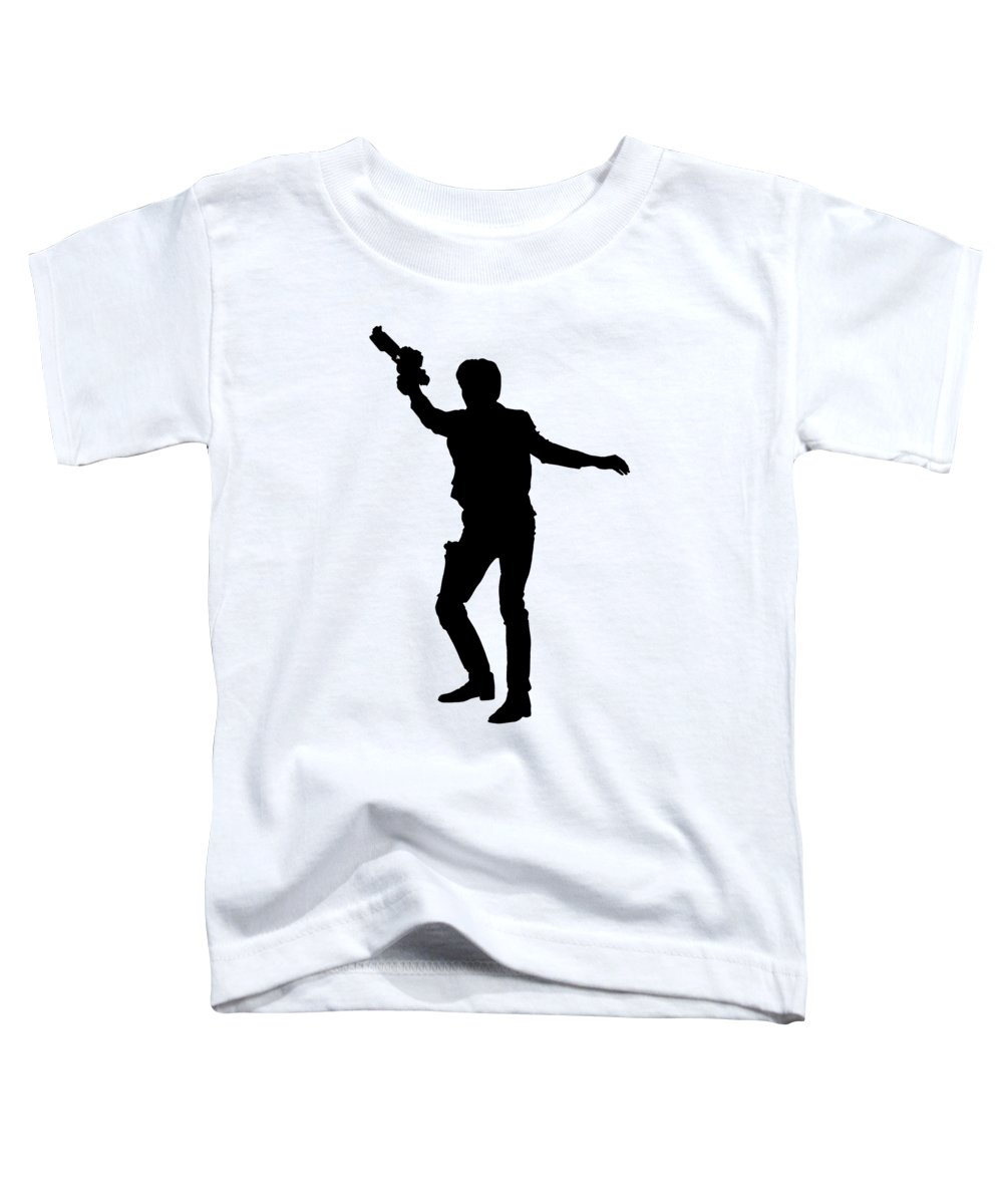 Shadow Digital Art Toddler T-Shirts