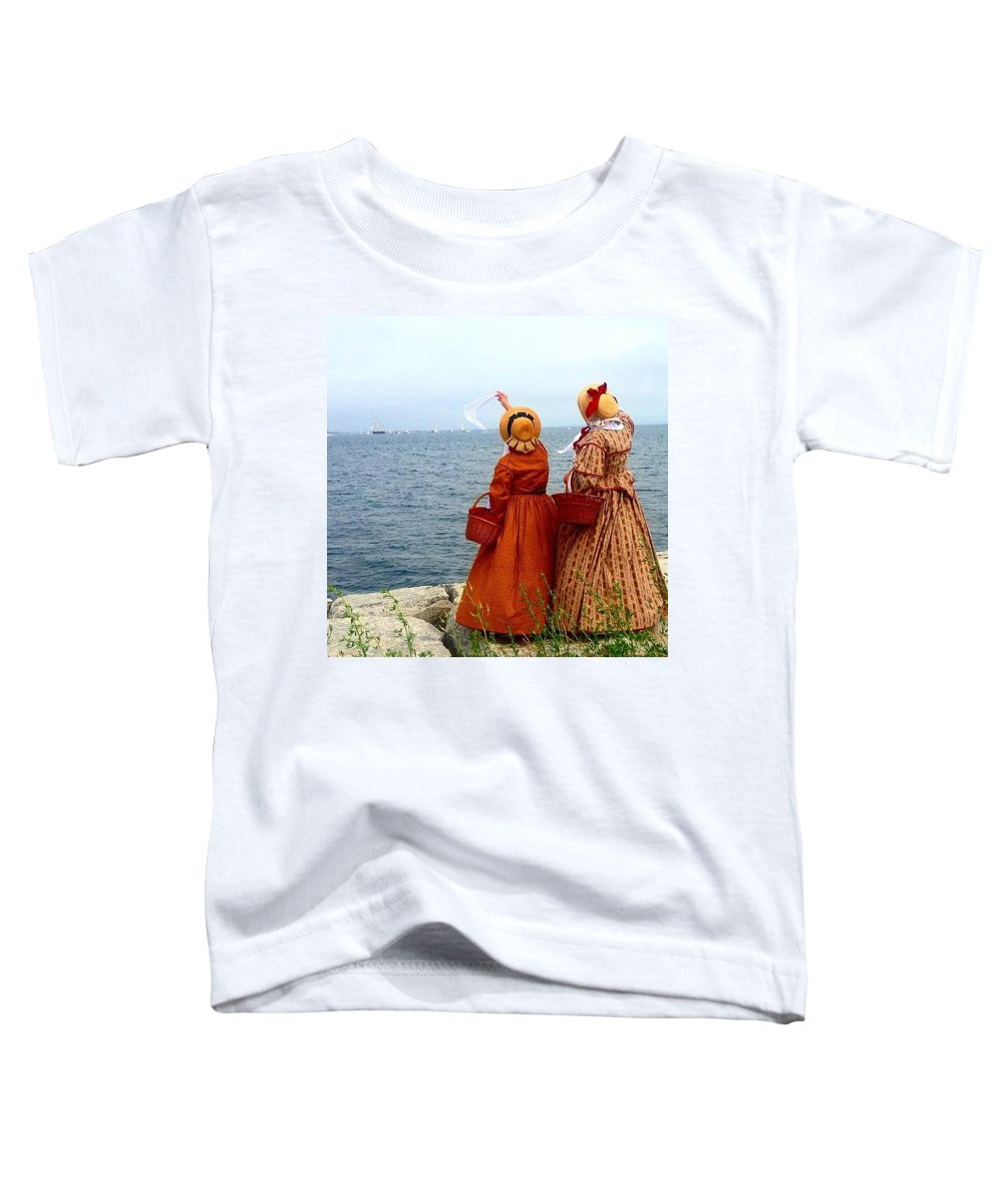 Ma Toddler T-Shirt featuring the photograph Home Sweet Home by Kate Arsenault