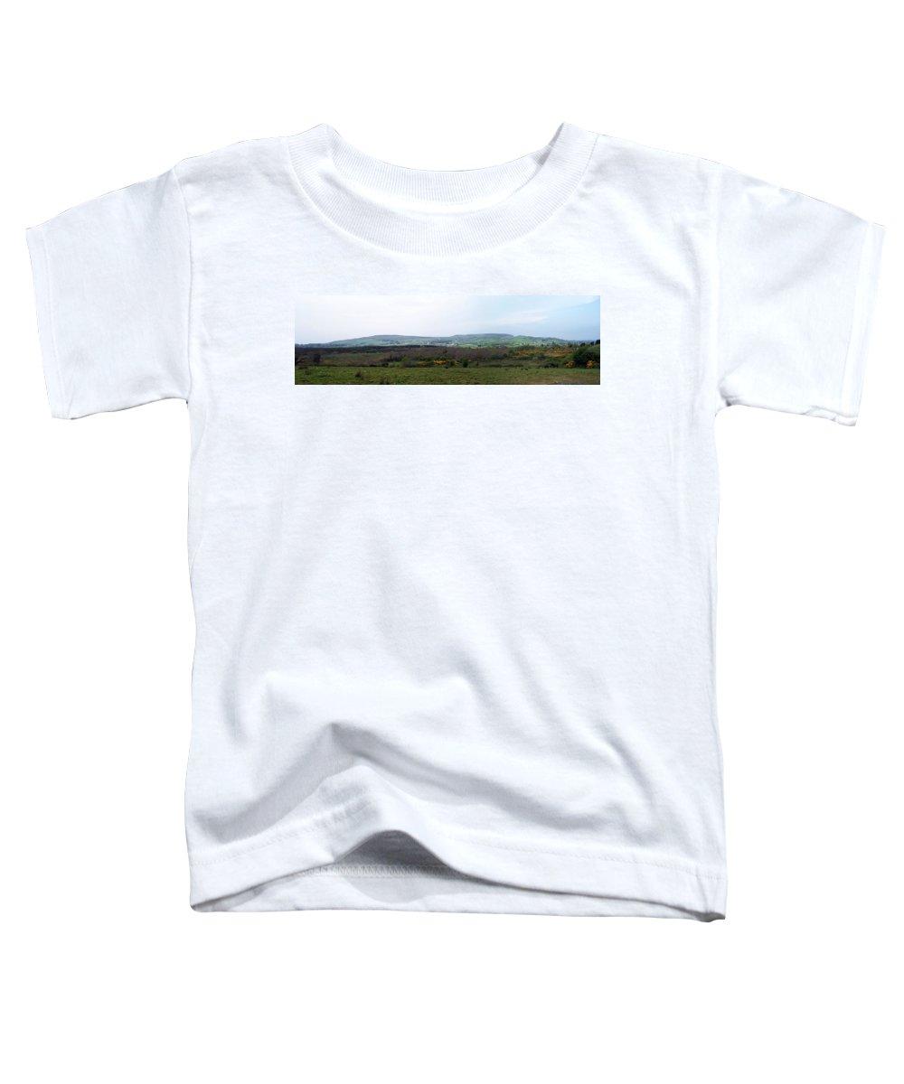 Ireland Toddler T-Shirt featuring the photograph Horses At Lough Arrow County Sligo Ireland by Teresa Mucha