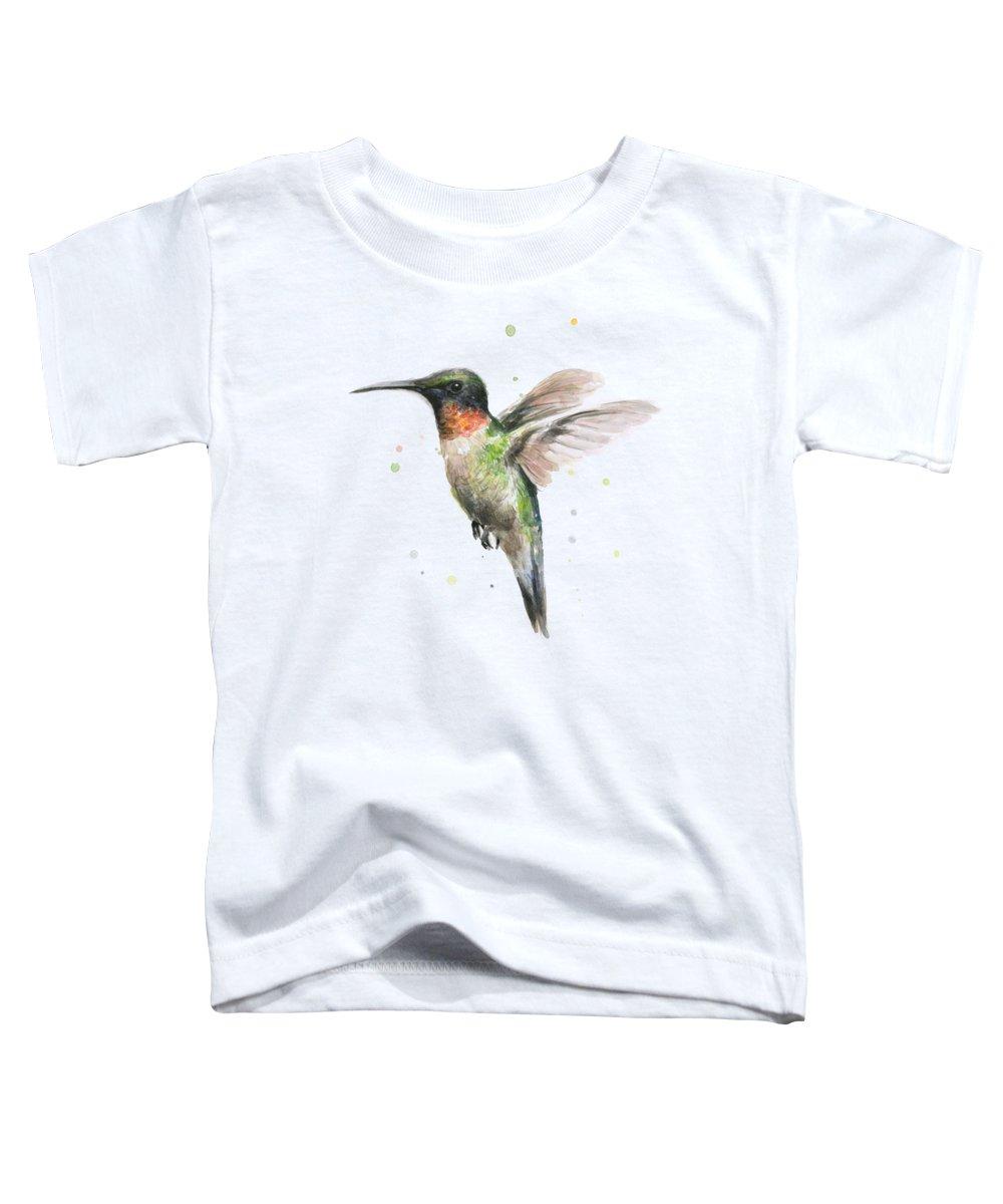 Hummingbird Toddler T-Shirts