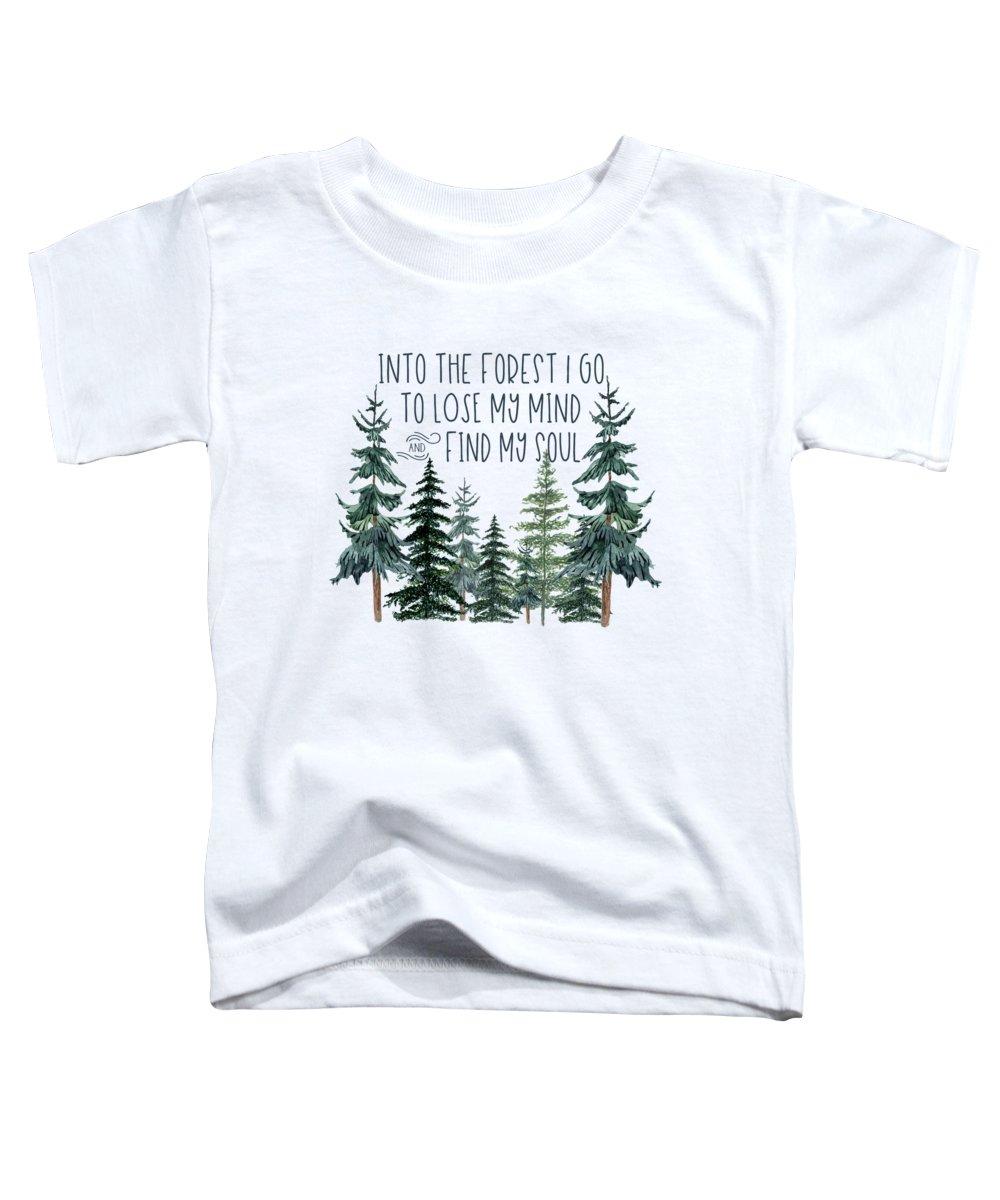 Greenery Toddler T-Shirts