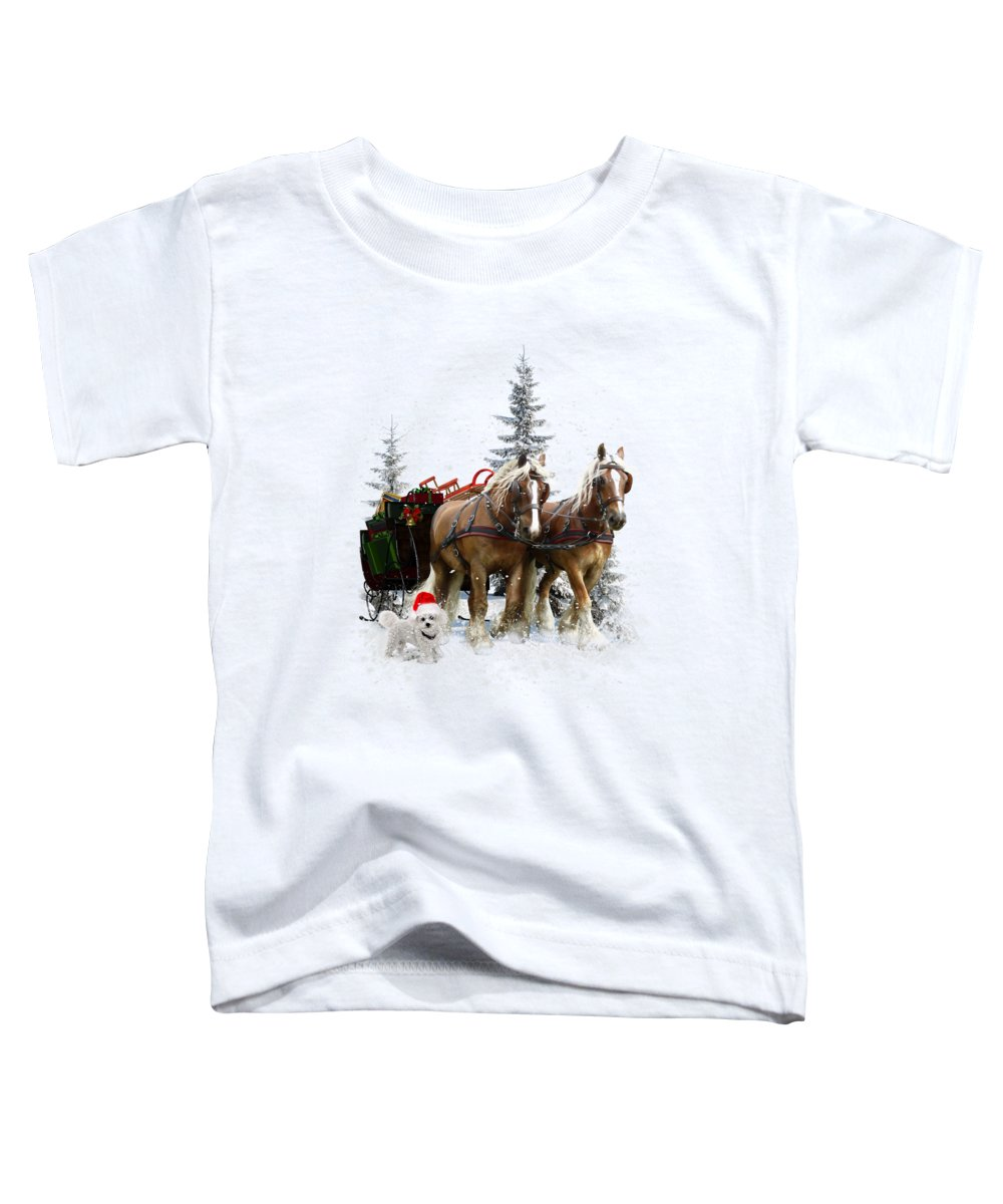 Pulling Paintings Toddler T-Shirts