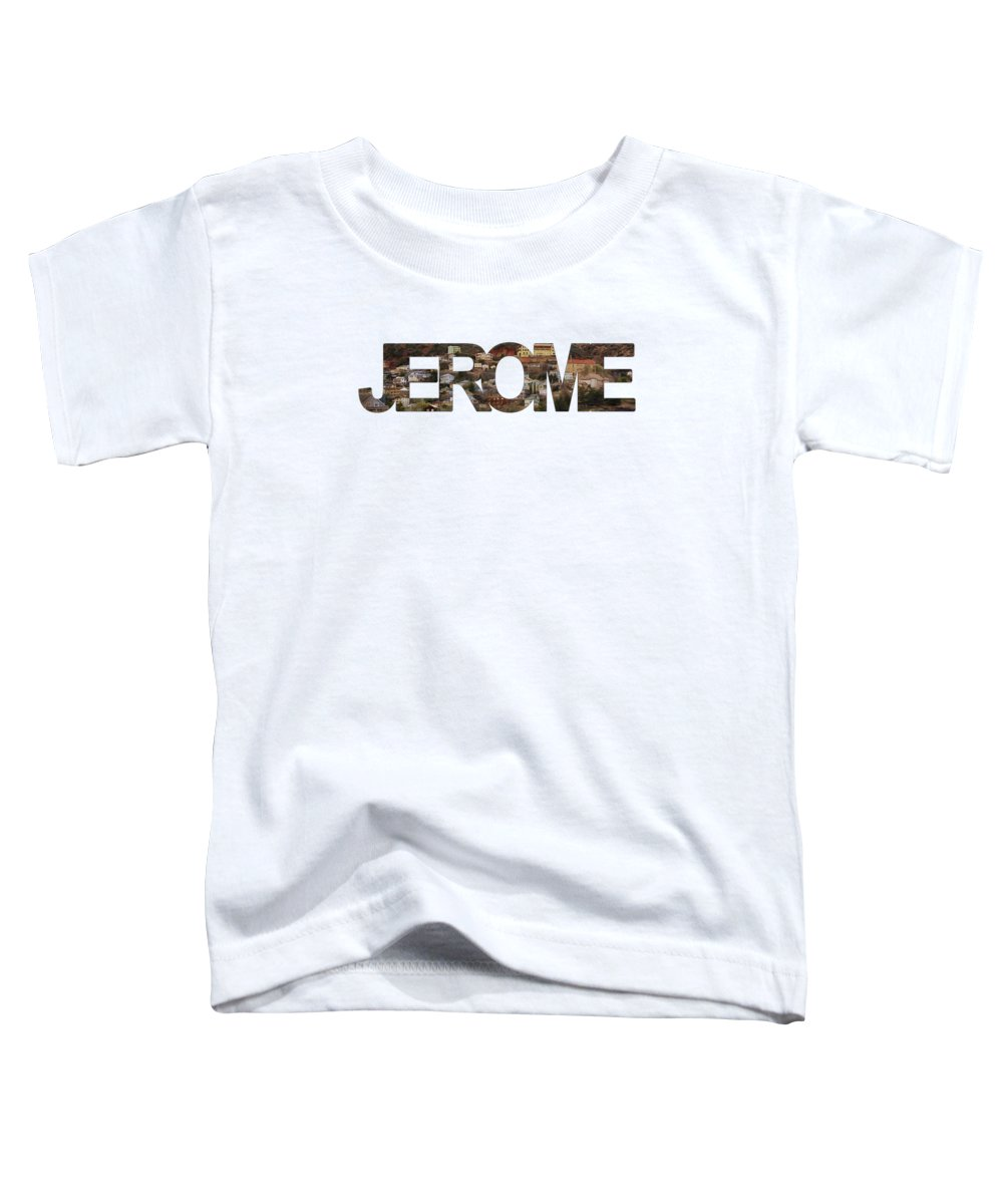Jerome Toddler T-Shirt featuring the photograph Jerome by Priscilla Burgers