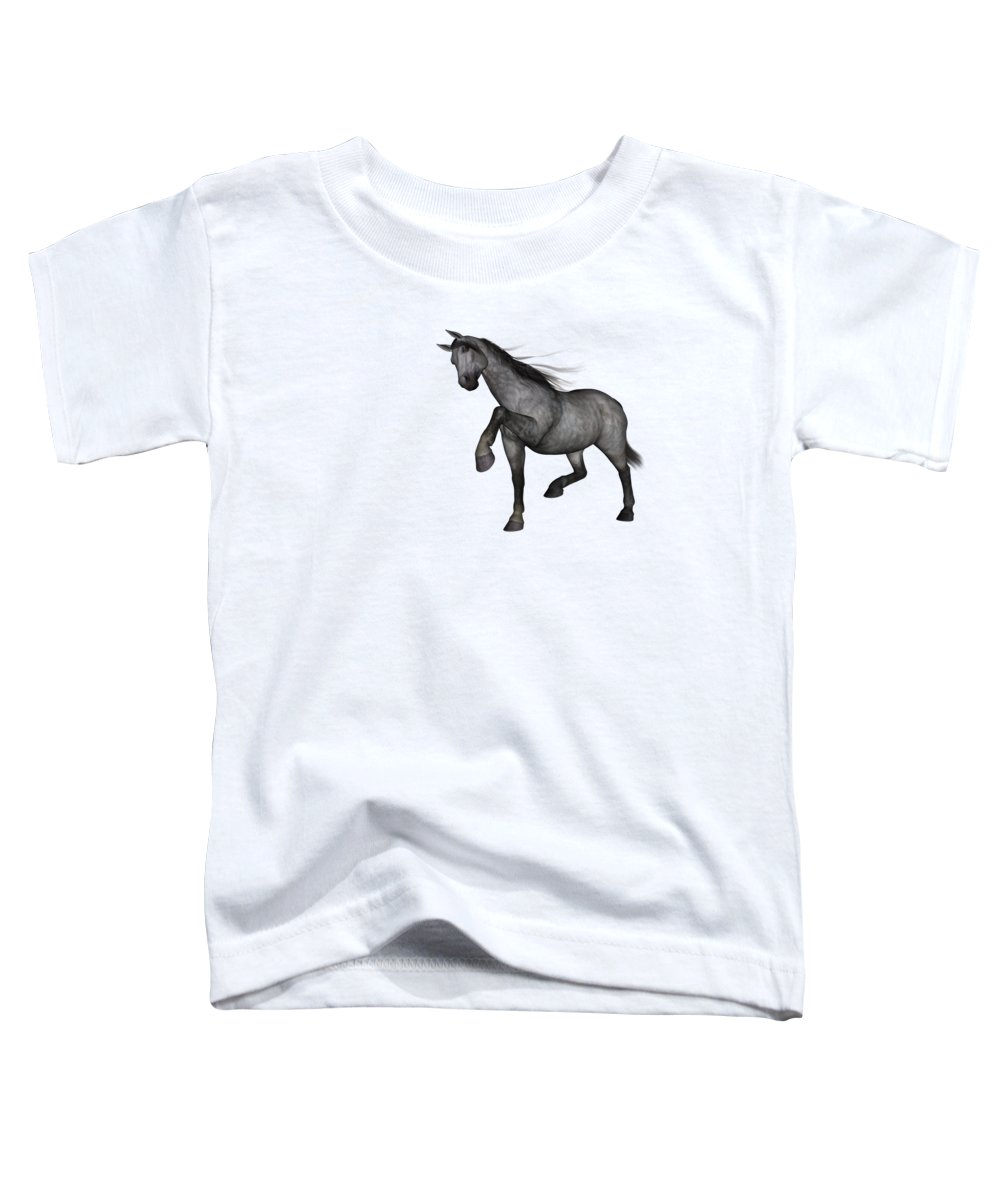 Grey Background Toddler T-Shirts