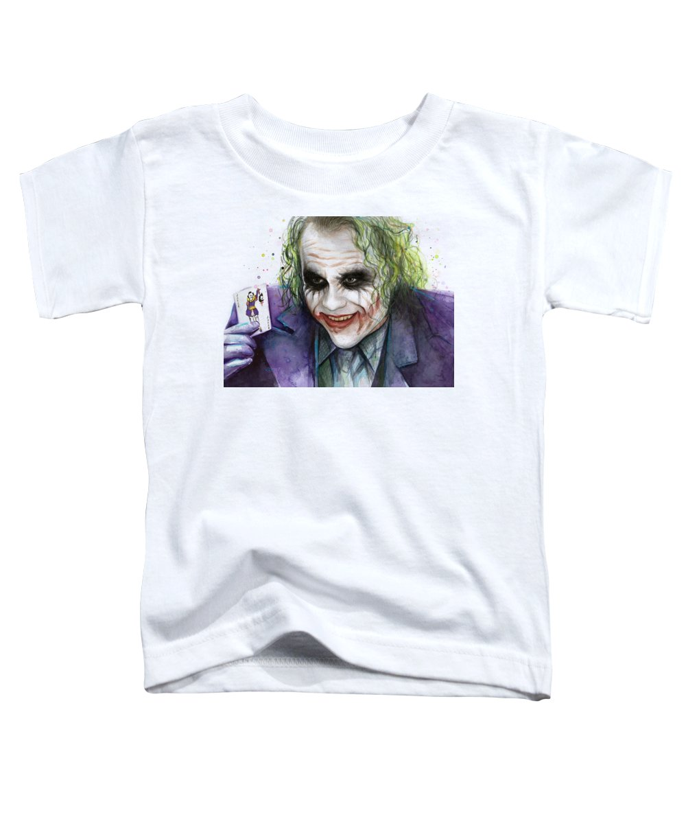 Heath Ledger Toddler T-Shirts