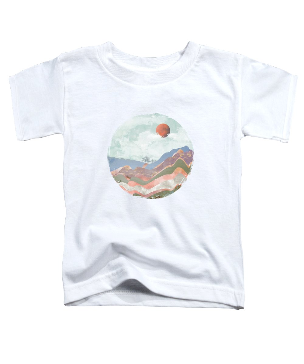 Abstract Landscape Toddler T-Shirts