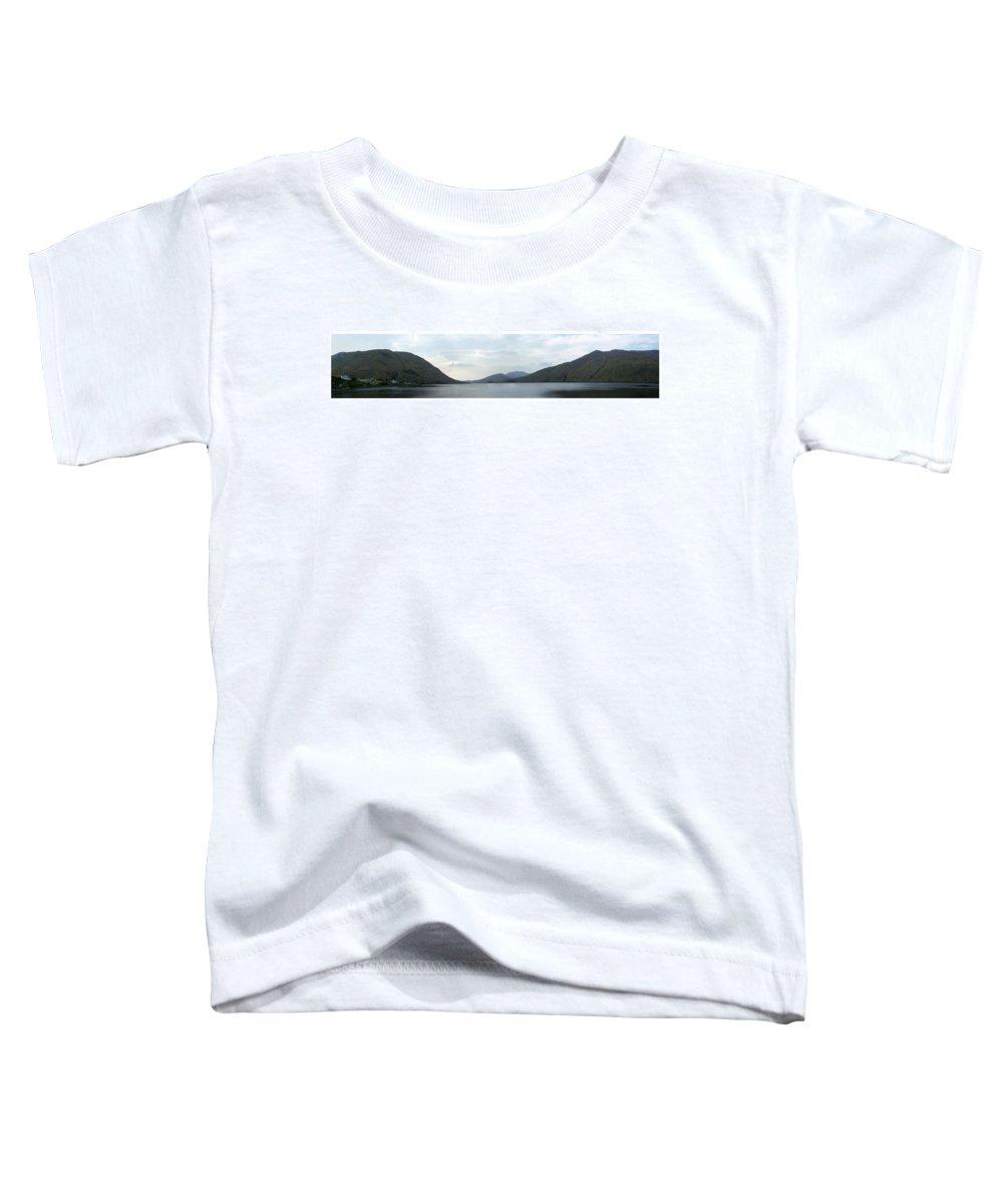 Landscape Toddler T-Shirt featuring the photograph Killary Harbour Leenane Ireland by Teresa Mucha