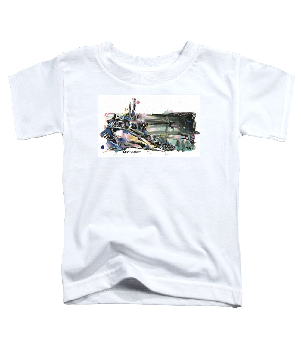 Seascape Toddler T-Shirt featuring the painting Lady Sherbert by Robert Joyner