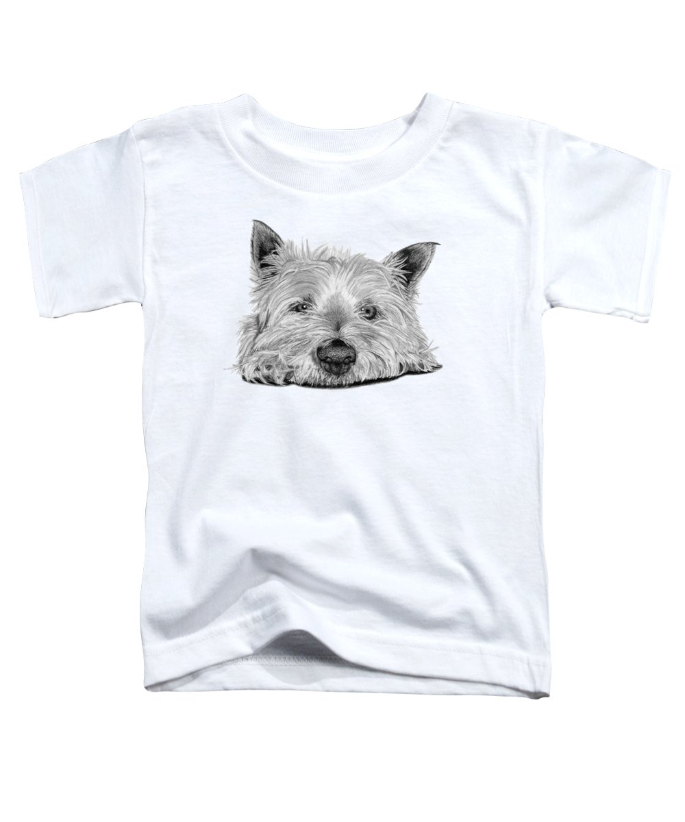 Westie Toddler T-Shirts