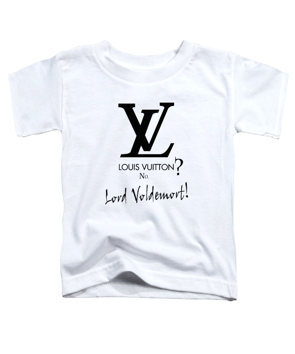 Lord Toddler T-Shirt featuring the digital art Lord Voldemort, Everywhere by Katy Ar
