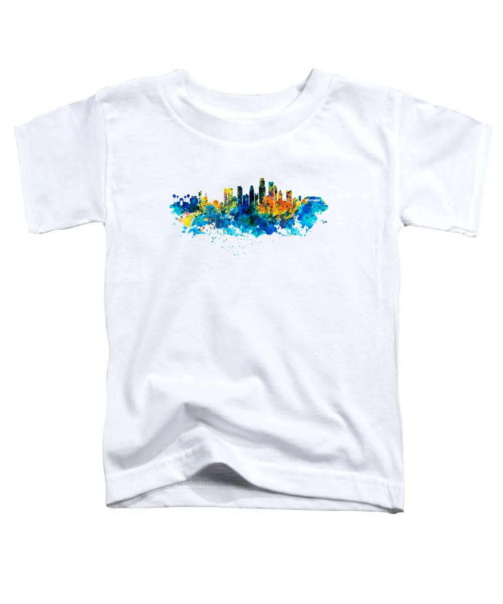 Los Angeles Skyline Toddler T-Shirts