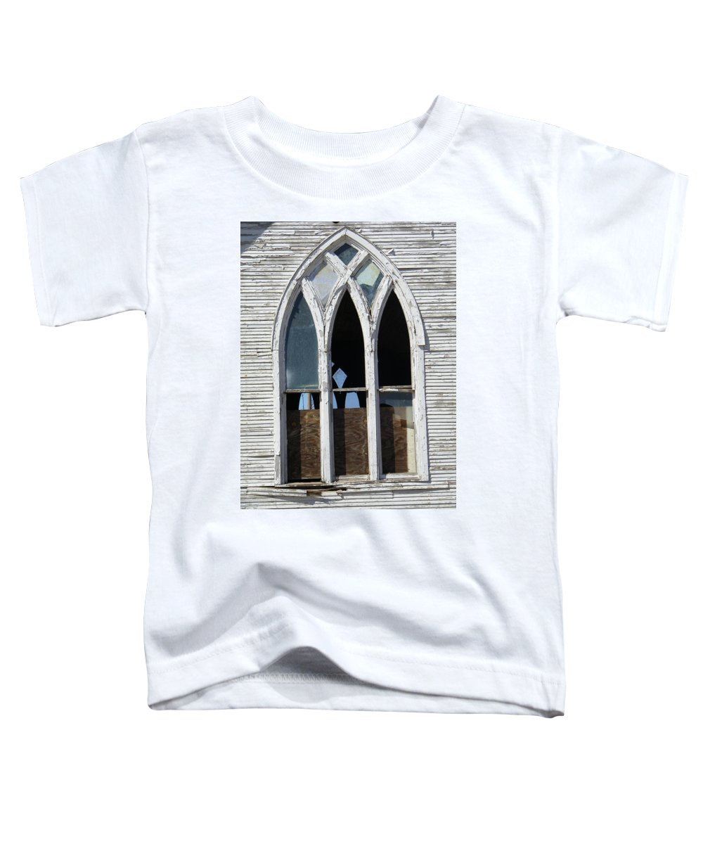 Church Toddler T-Shirt featuring the photograph Lost by Gale Cochran-Smith