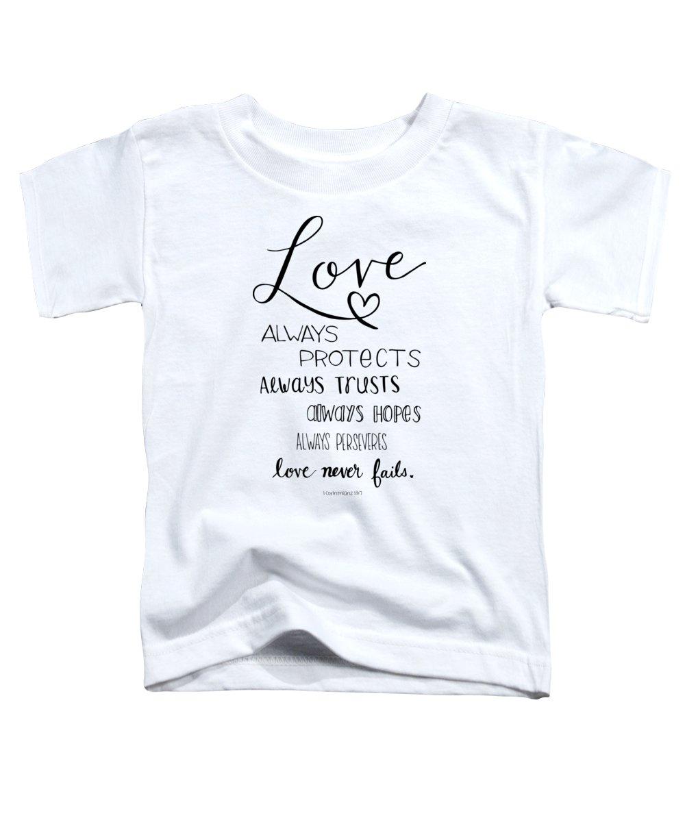 Bible Toddler T-Shirts