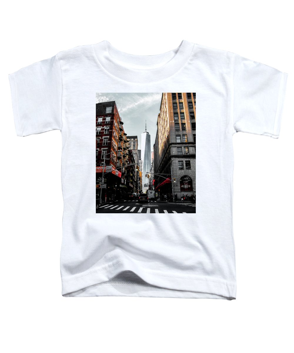 Nyc Toddler T-Shirt featuring the photograph Lower Manhattan by Nicklas Gustafsson