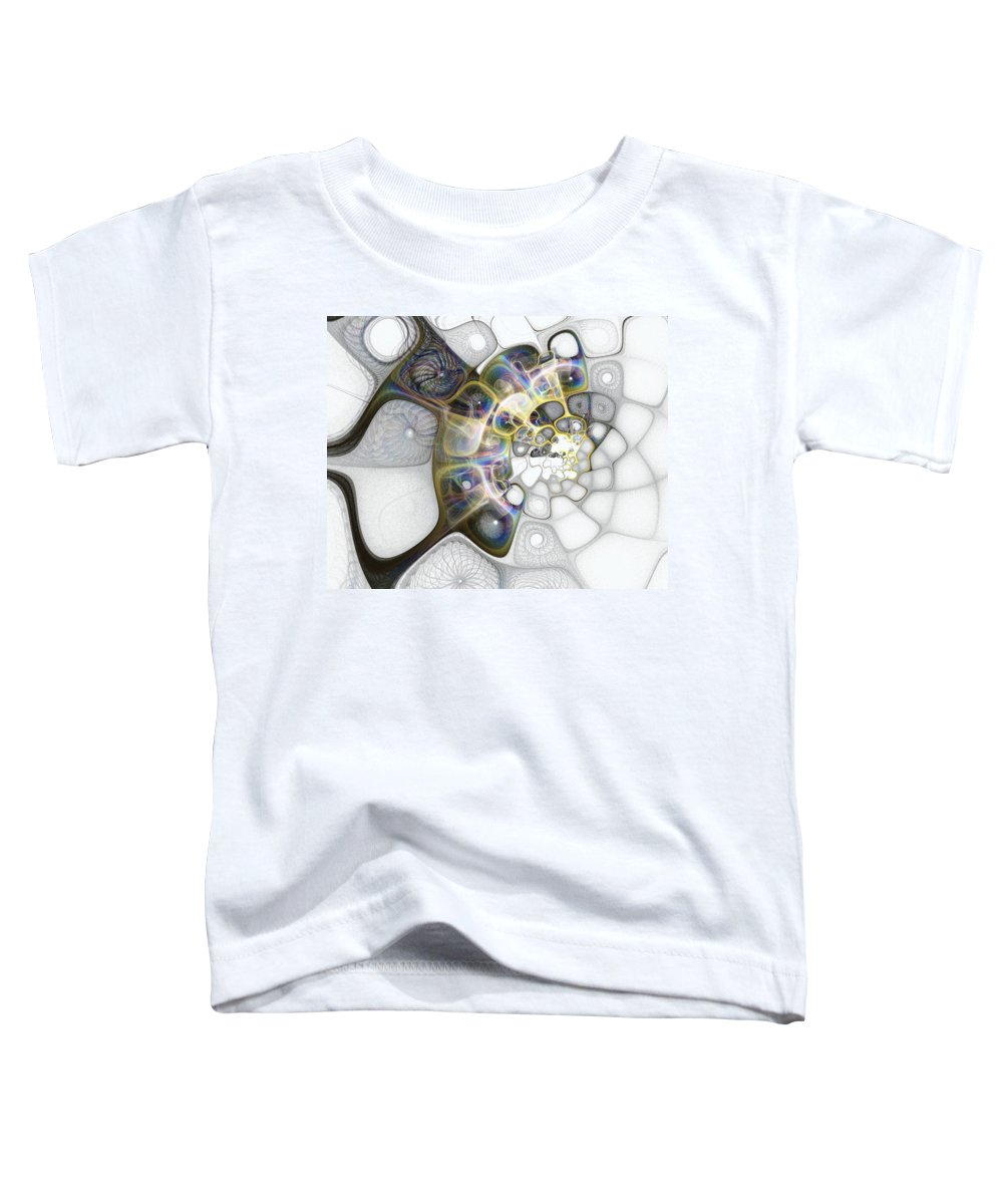 Digital Art Toddler T-Shirt featuring the digital art Memories II by Amanda Moore