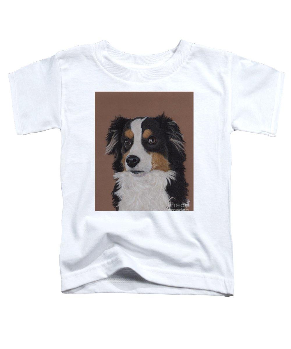 Miniature Australian Shepherd Toddler T-Shirt