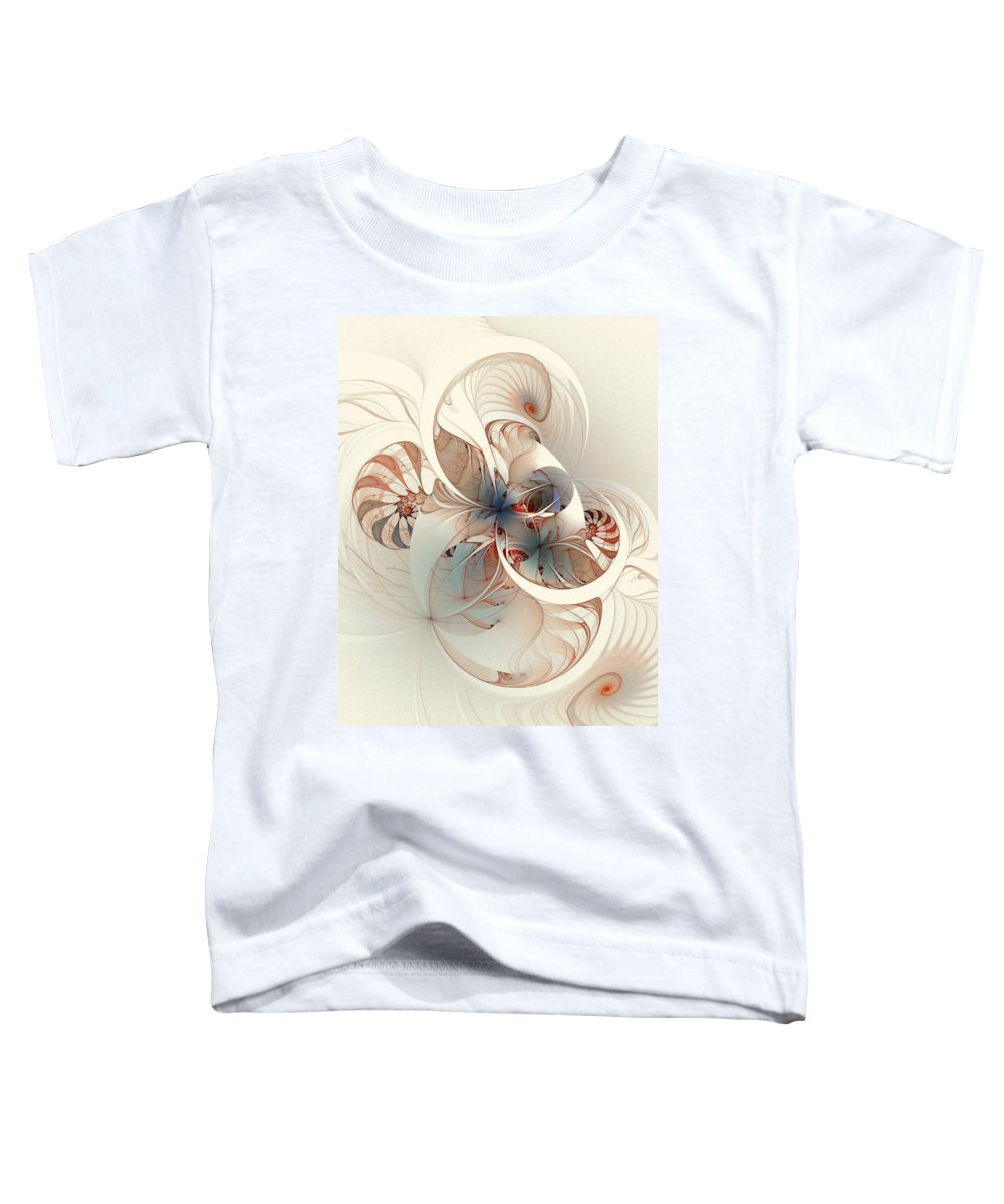 Toddler T-Shirt featuring the digital art Mollusca by Amanda Moore