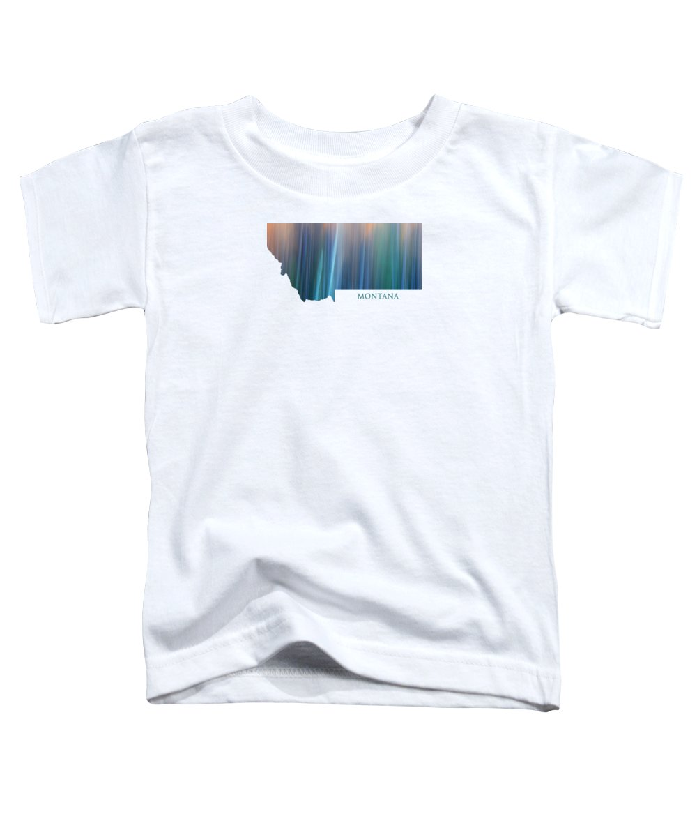 Montana Toddler T-Shirt featuring the photograph Montana In Pastel by Whispering Peaks Photography