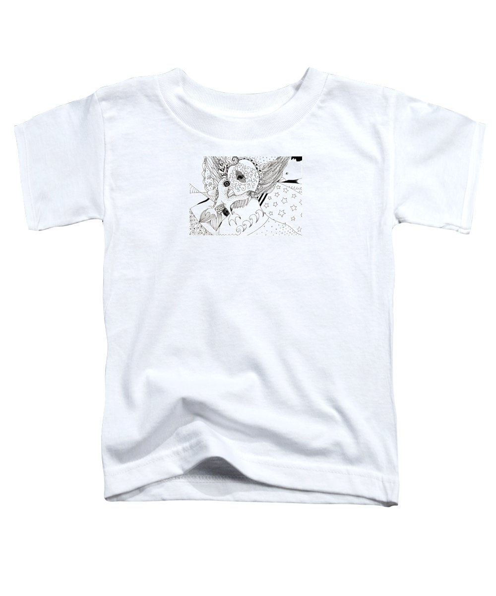 Organic Abstraction Toddler T-Shirts