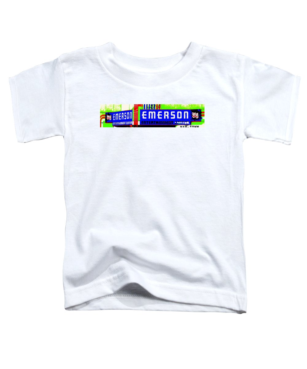 Music Toddler T-Shirt featuring the photograph Old Theater by Ed Smith