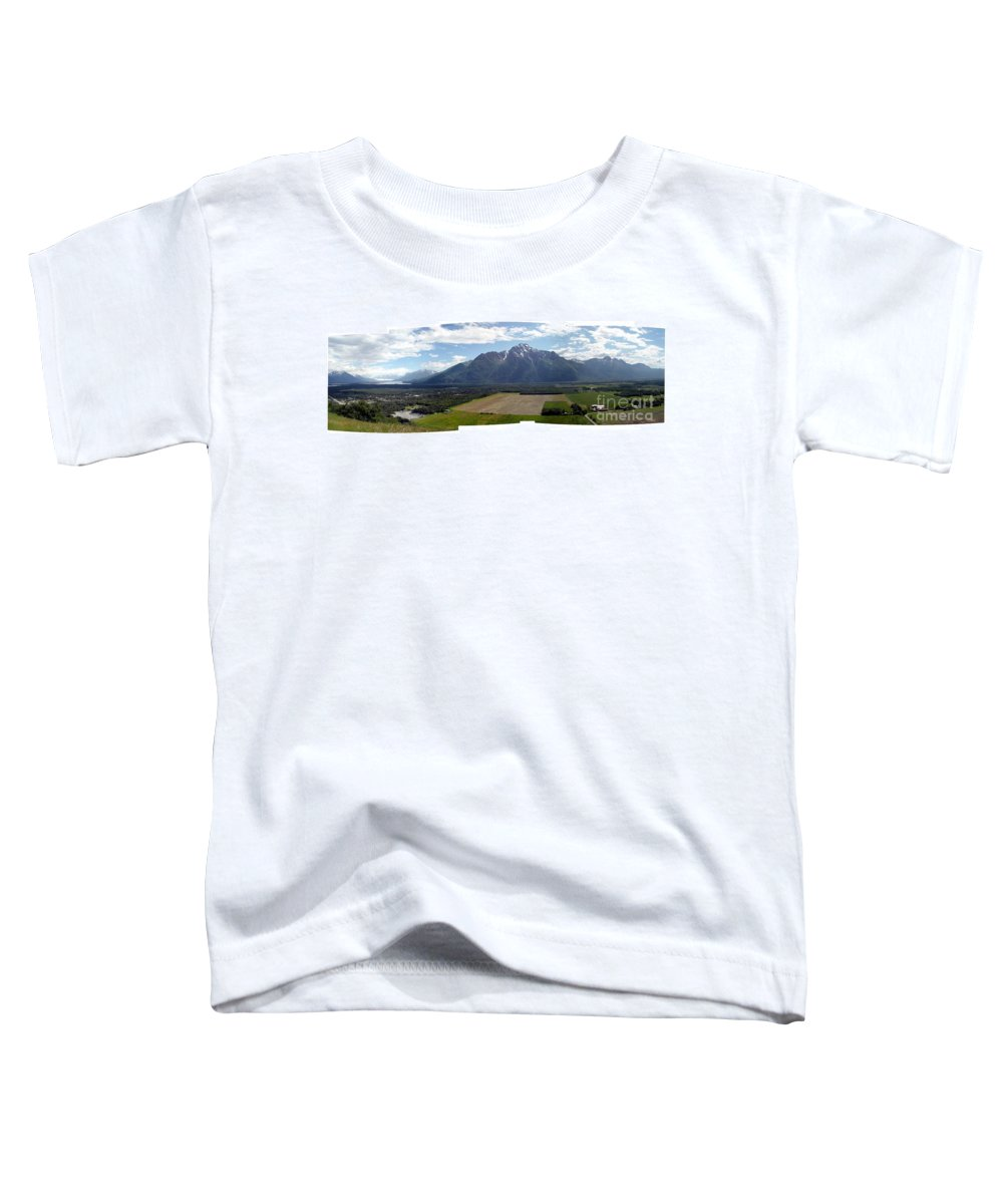 Landscape Toddler T-Shirt featuring the photograph On A Butteiful Day by Ron Bissett