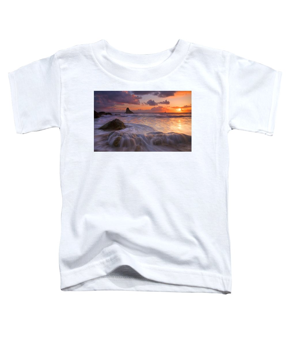 Sunset Toddler T-Shirt featuring the photograph Overcome by Mike Dawson