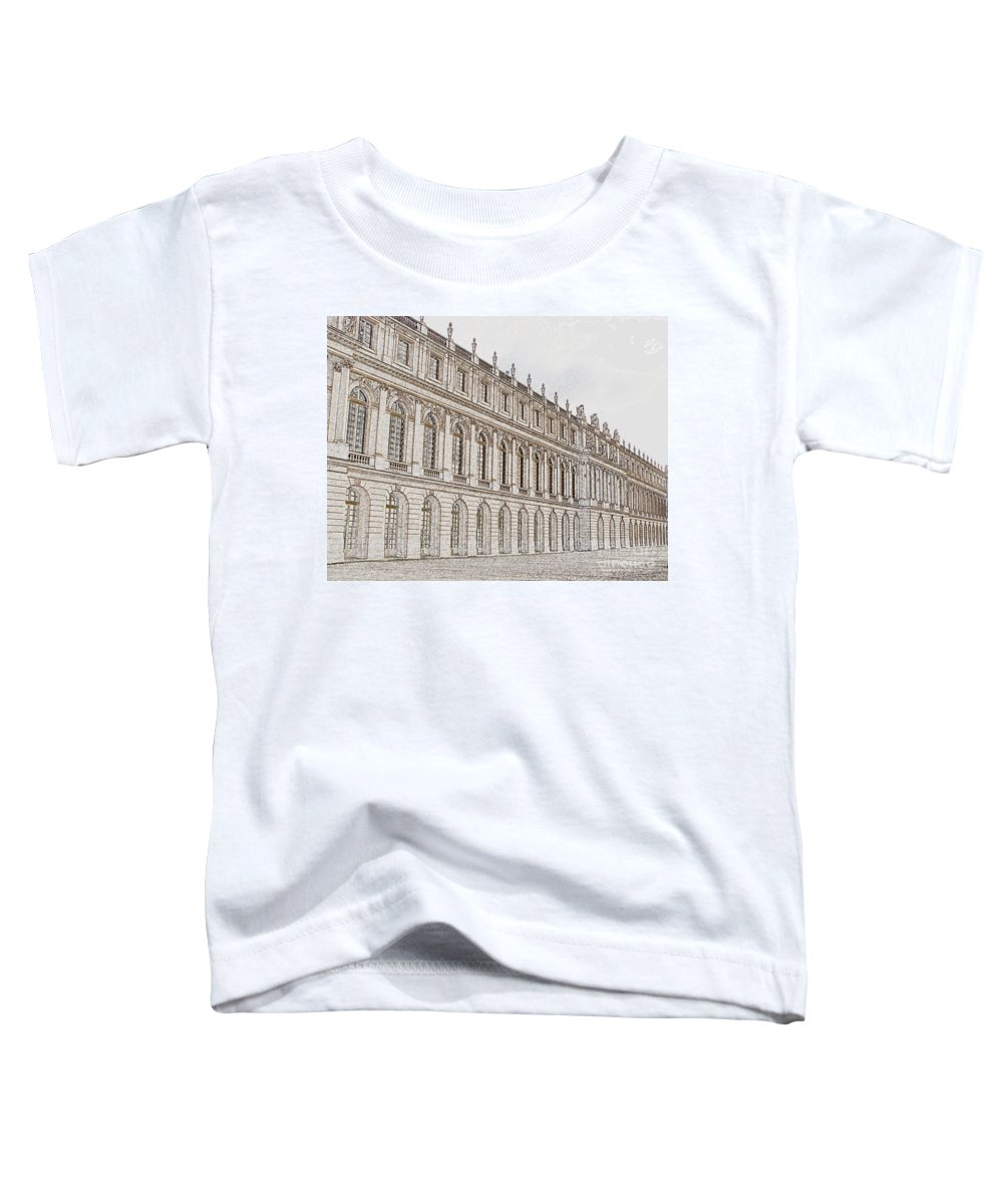 France Toddler T-Shirt featuring the photograph Palace Of Versailles by Amanda Barcon