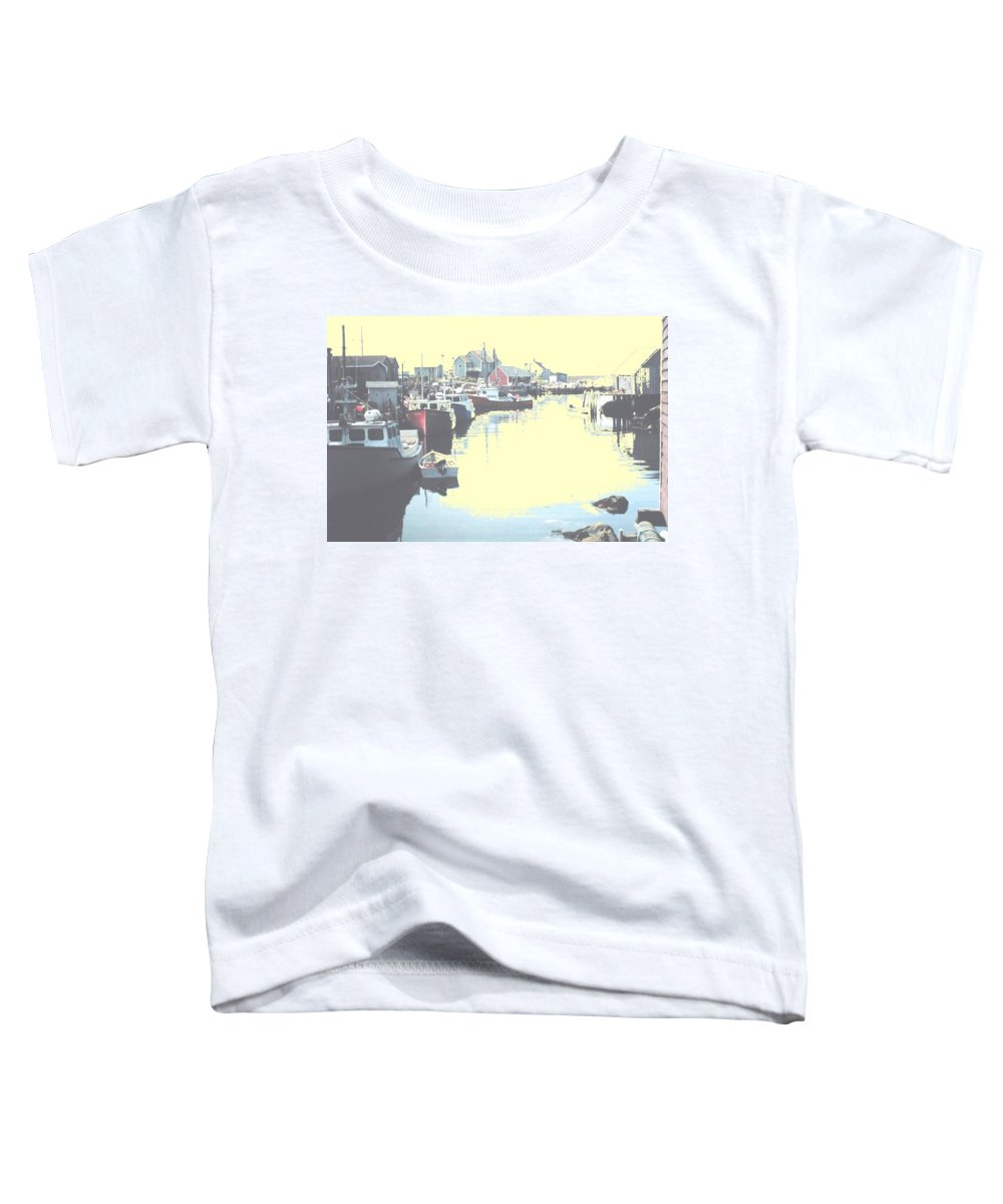 Nova Scotia Toddler T-Shirt featuring the photograph Peggy by Ian MacDonald