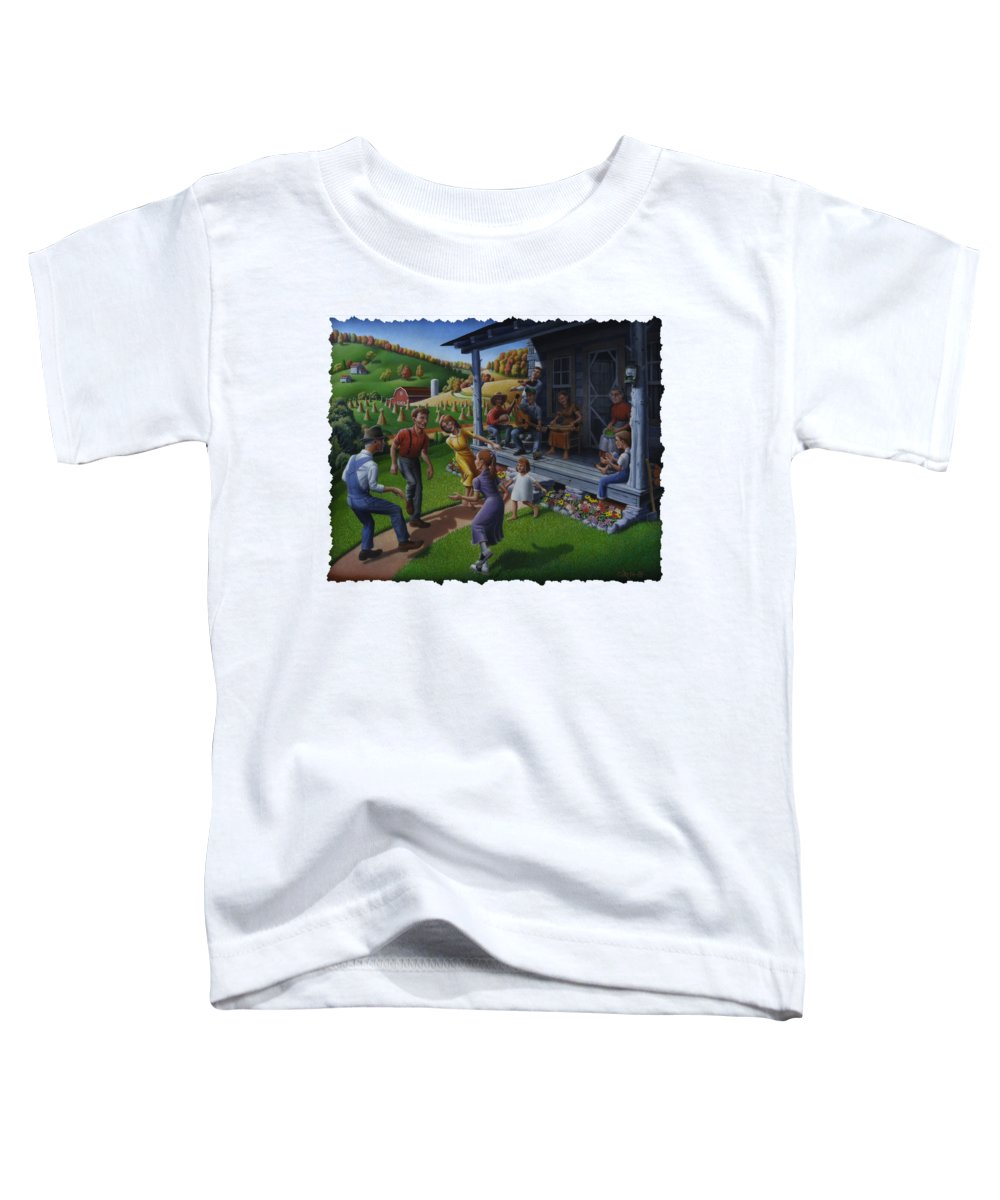 Porch Paintings Toddler T-Shirts