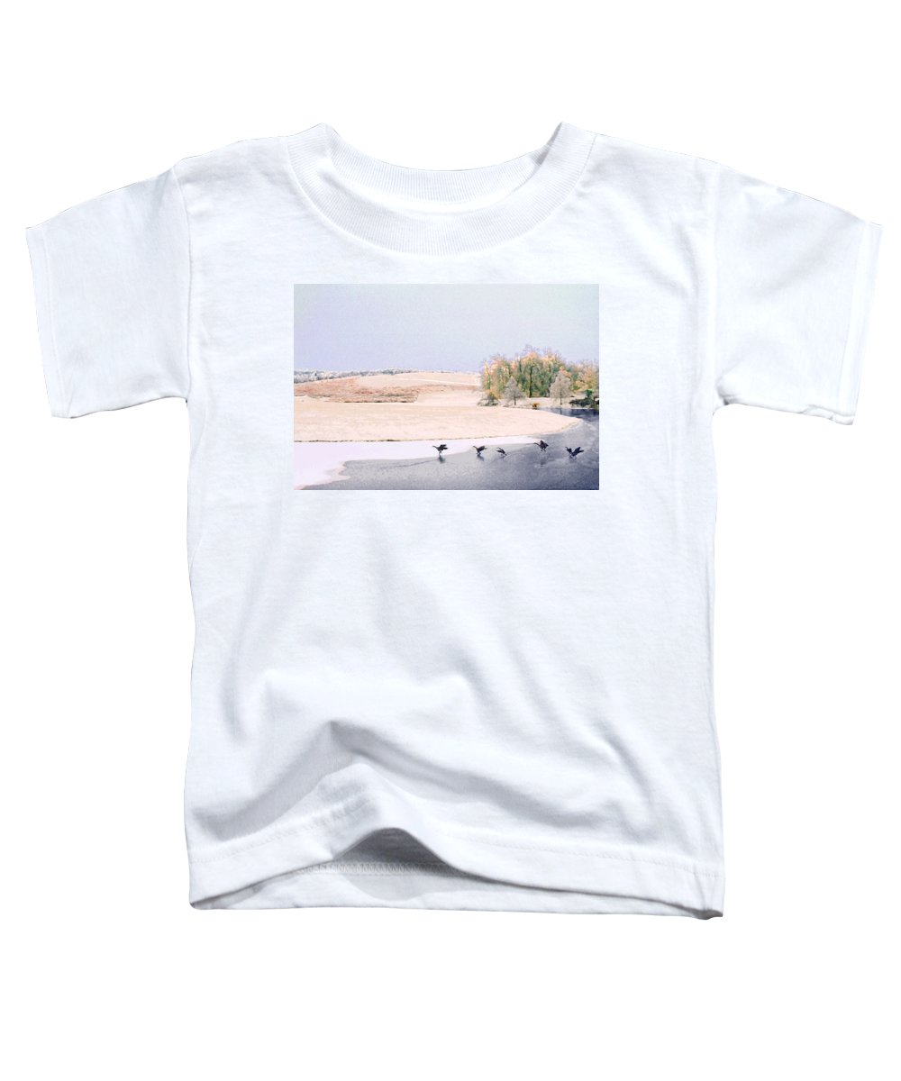 Landscape Toddler T-Shirt featuring the photograph Powell Gardens In Winter by Steve Karol