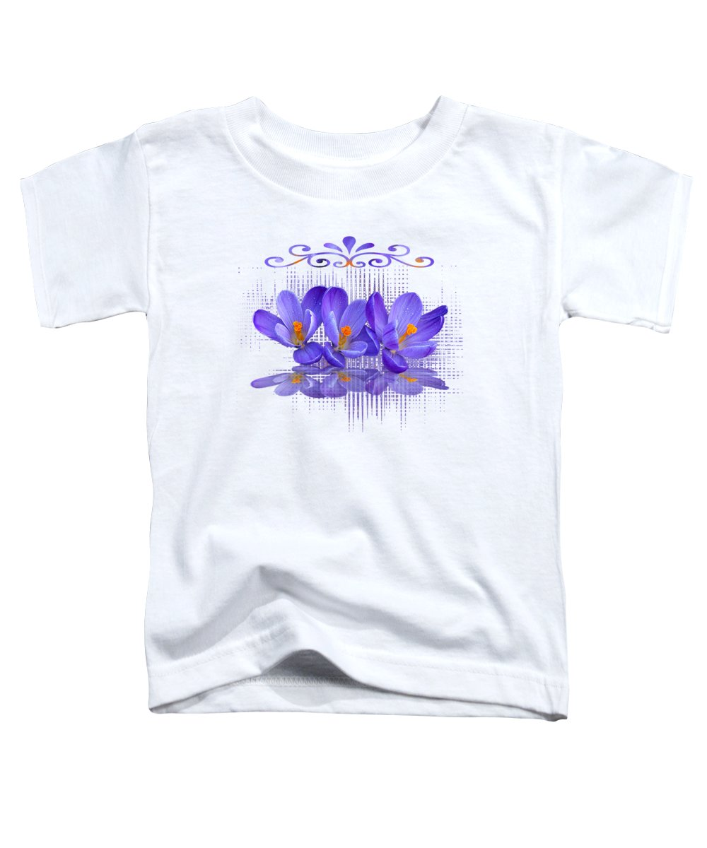Still Life With Flowers Toddler T-Shirts
