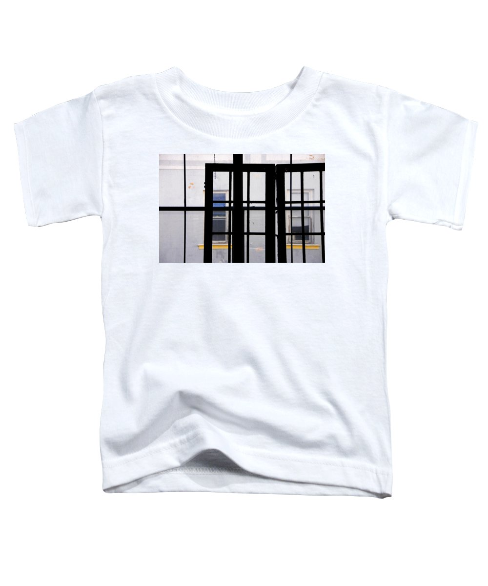 Skip Hunt Toddler T-Shirt featuring the photograph Rear Window 1 by Skip Hunt