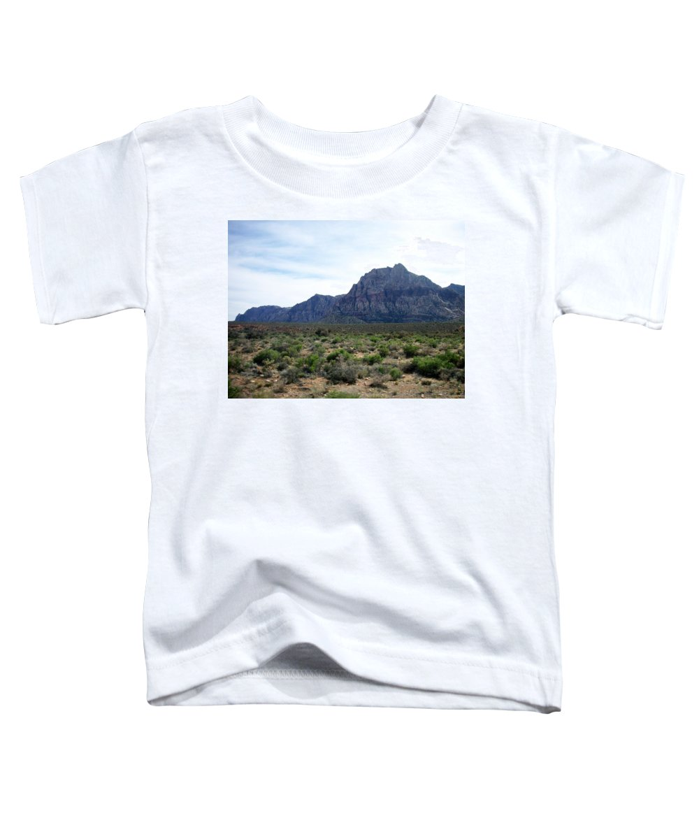 Red Rock Canyon Toddler T-Shirt featuring the photograph Red Rock Canyon 3 by Anita Burgermeister