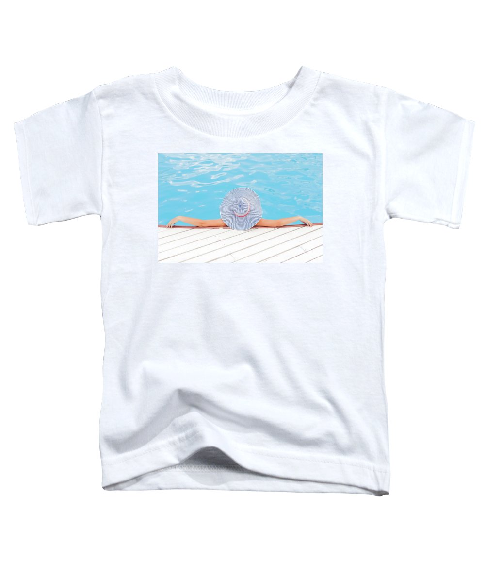 Adult Toddler T-Shirt featuring the photograph Relaxing by Happy Home Artistry