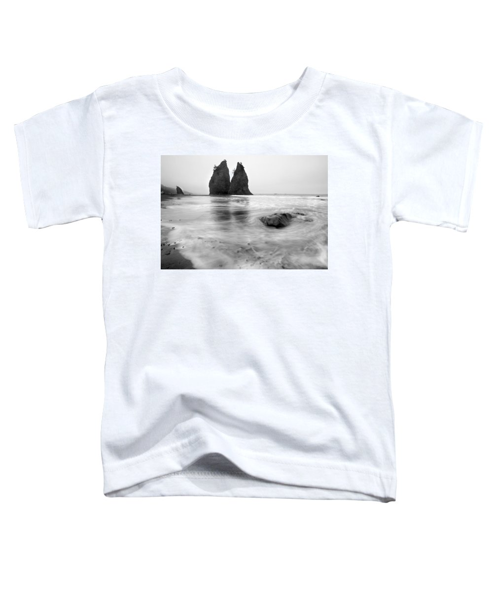 Beach Toddler T-Shirt featuring the photograph Rialto Reflections by Mike Dawson