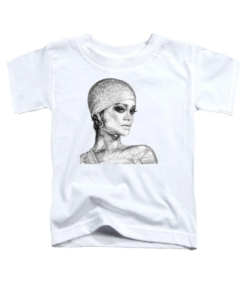 Rihanna Toddler T-Shirts
