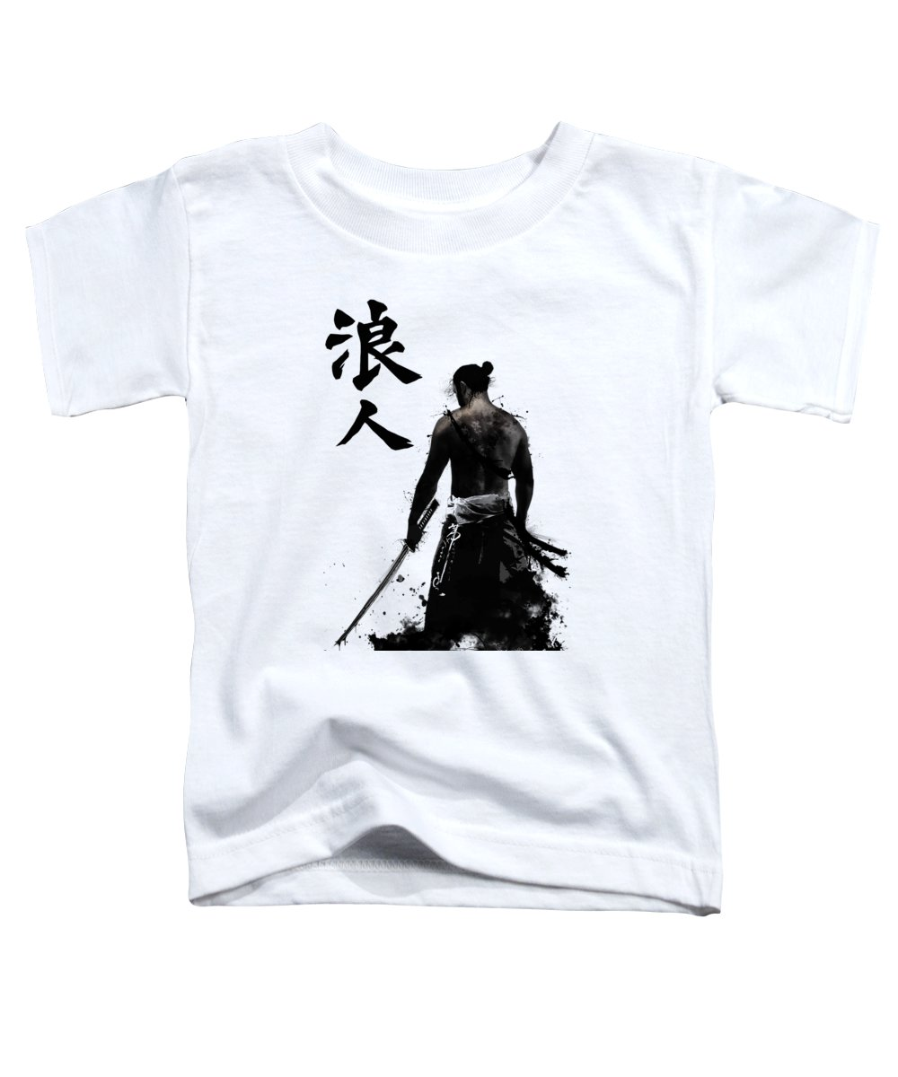 Japan Toddler T-Shirt featuring the digital art Ronin by Nicklas Gustafsson