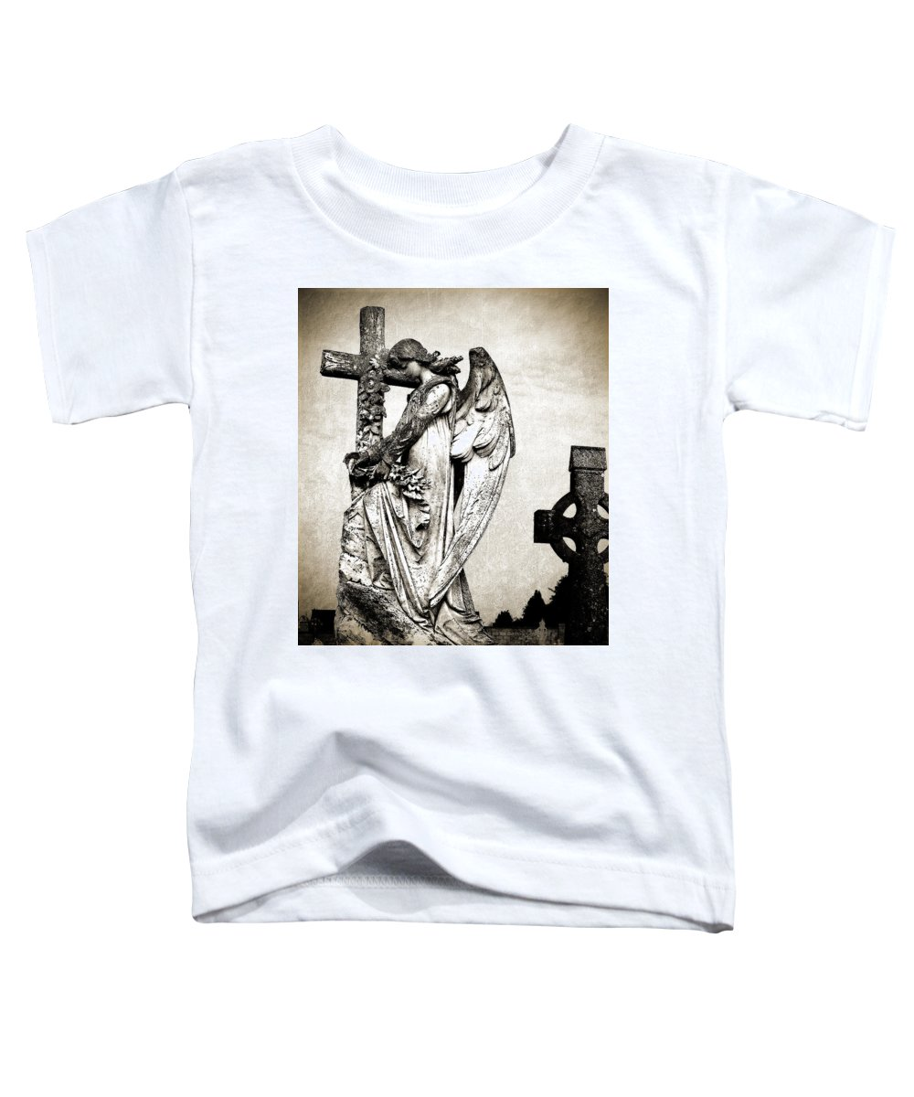 Ireland Toddler T-Shirt featuring the photograph Roscommon Angel No 1 by Teresa Mucha