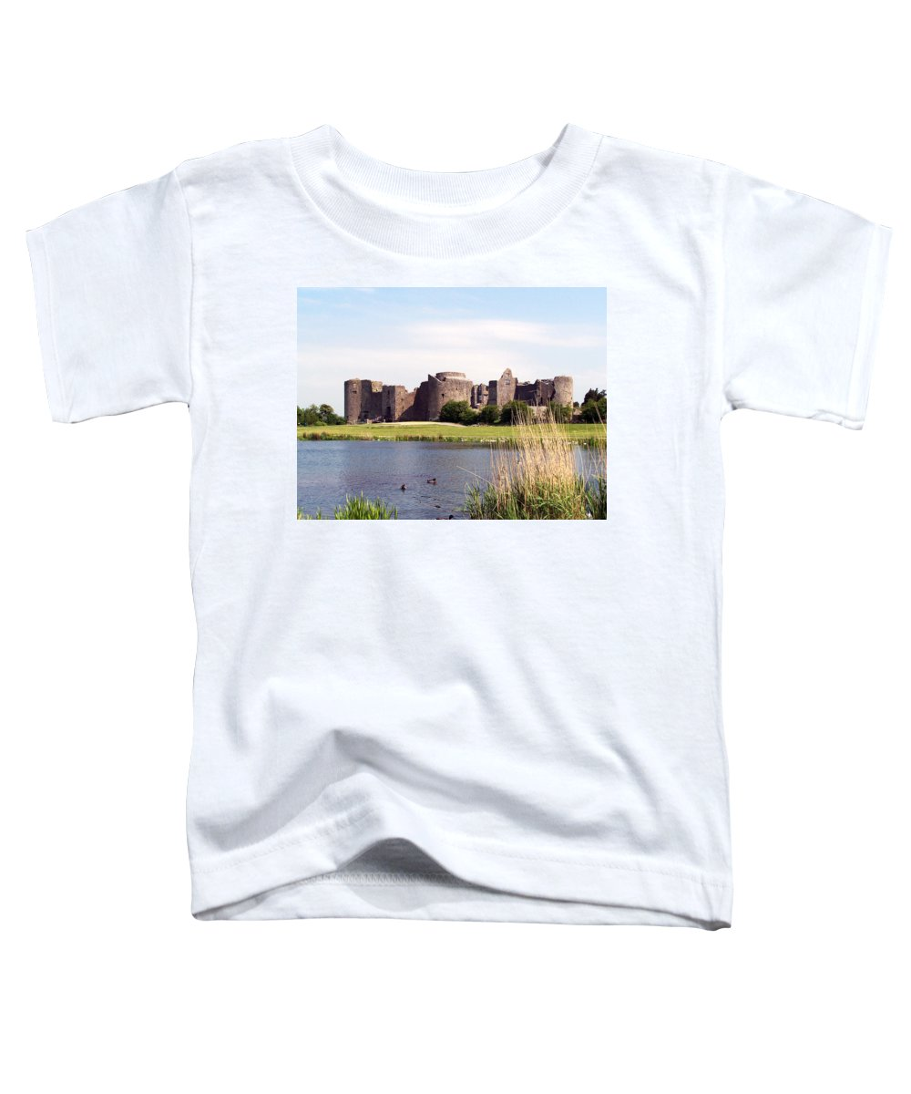 Roscommon Toddler T-Shirt featuring the photograph Roscommon Castle Ireland by Teresa Mucha