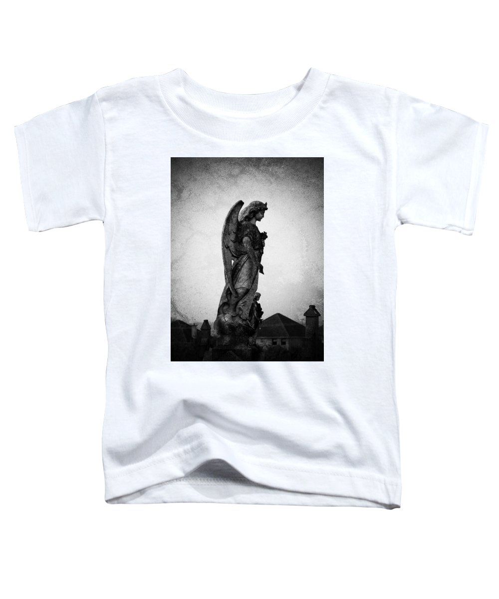 Roscommon Toddler T-Shirt featuring the photograph Roscommonn Angel No 4 by Teresa Mucha