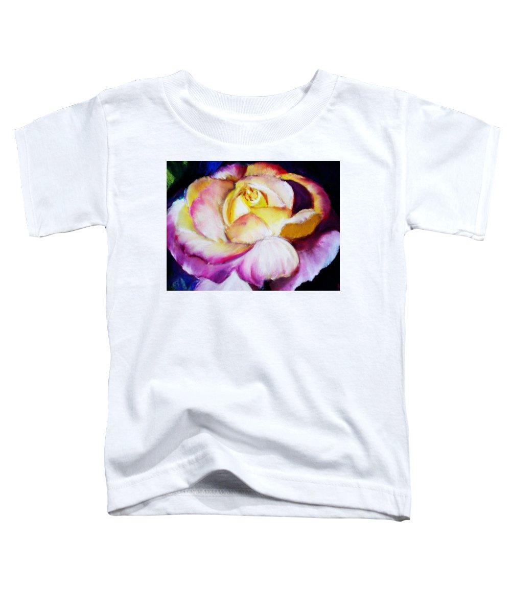 Rose Toddler T-Shirt featuring the print Rose by Melinda Etzold