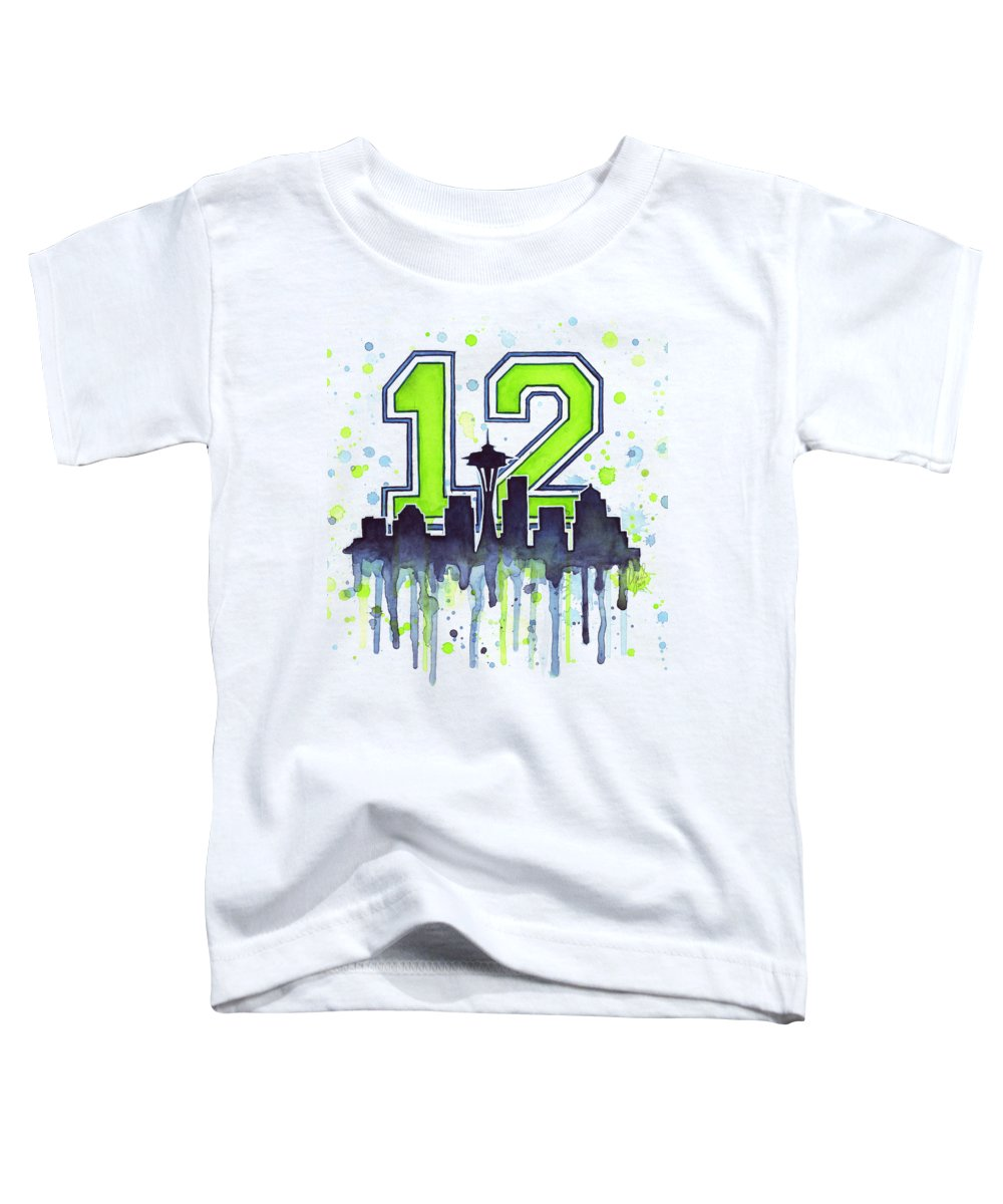 Seattle Toddler T-Shirts