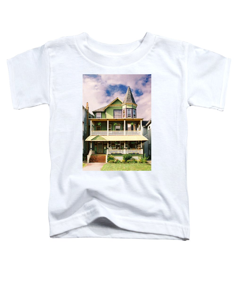 Archtiecture Toddler T-Shirt featuring the photograph Sisters Panel 1 Of Triptych by Steve Karol
