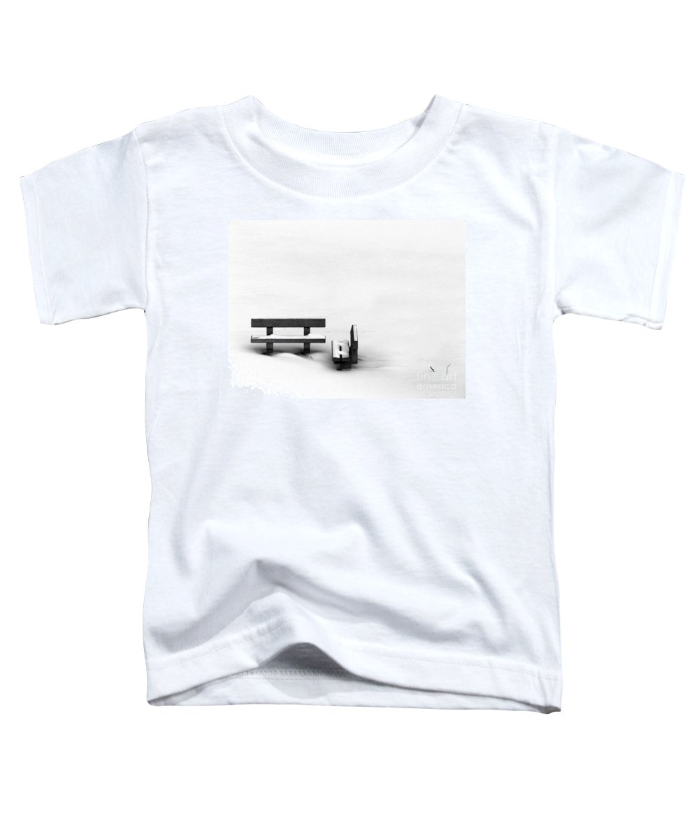 Black Toddler T-Shirt featuring the photograph Someone To Hear You When You Sigh by Dana DiPasquale