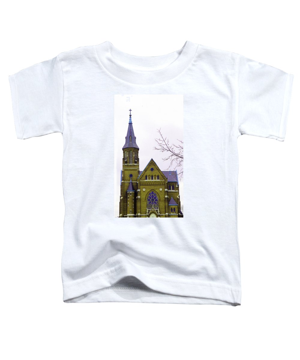 Spire Toddler T-Shirt featuring the photograph Spire by Albert Stewart