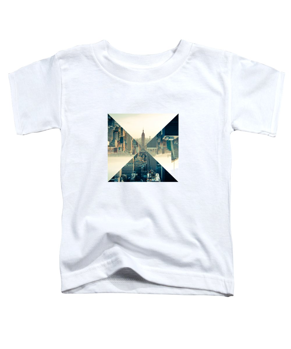 New York City Skyline Toddler T-Shirts