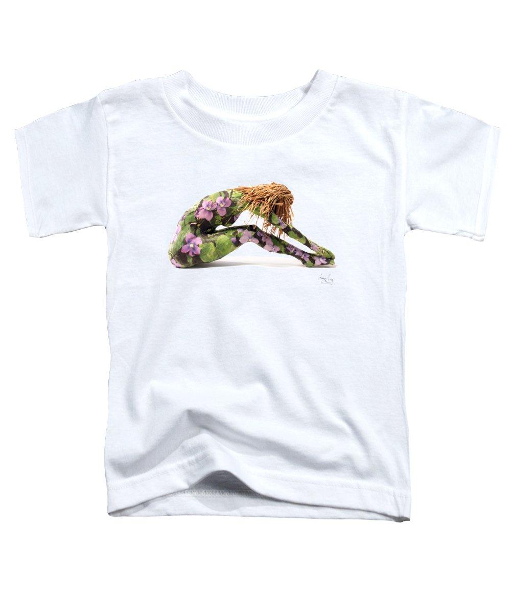 Nude Mixed Media Toddler T-Shirts