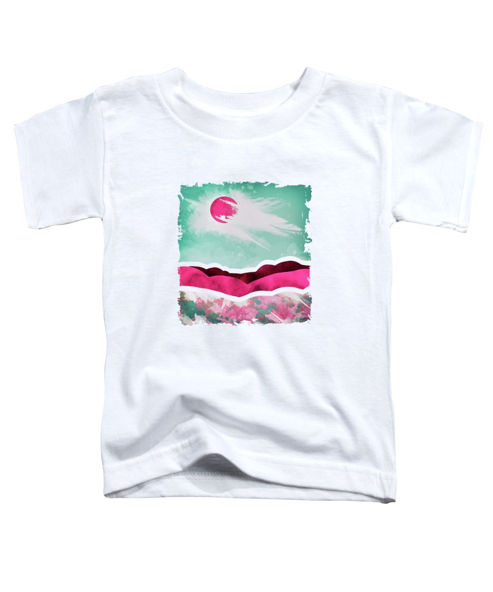 Spring Toddler T-Shirt featuring the digital art Spring Day by Katherine Smit